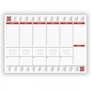 Podložka stolní Bobo kalendář - 30 listů A2 šedá