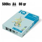 Papír IQ Color barevný A4 80g modrá BL29
