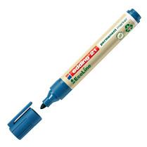 Popisovač perm. Edding EcoLine 21 1,5-3 mm modrý