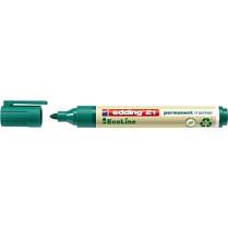Popisovač perm. Edding EcoLine 21 1,5-3 mm zelený