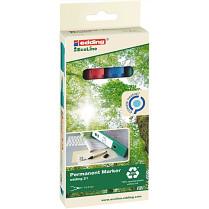 Popisovač perm. Edding EcoLine 21/4S 1,5-3 mm 4-sada
