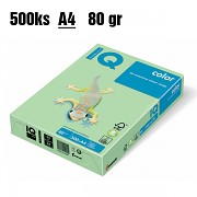 Papír IQ Color barevný A4 80g zelená MG28