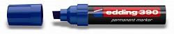 Popisovač perm. Edding 390 klínový hrot 4-12 mm modrý