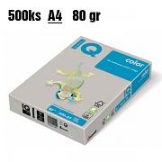 Papír IQ Color barevný A4 80g šedá GR21
