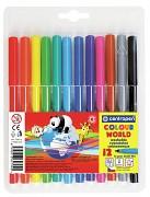 Popisovač Centropen Colour World 7550 1 mm 12-sada