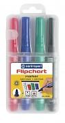 Popisovač na flipchart Centropen 8550 2,5 mm kulatý hrot 4-sada