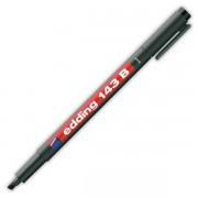 Popisovač perm. Edding 143B 1-3mm černý