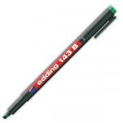 Popisovač perm. Edding 143B 1-3mm zelený