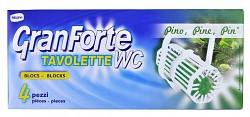 GranForte Pino WC blok s vůní borovice 4ks