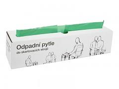 Odpadní pytle typ I, zelené 25 kusů