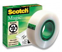 Lepicí páska SCOTCH MAGIC TAPE 810 19mm x 33m neviditelná