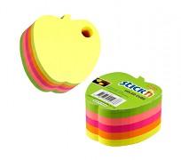 Samolepicí kostky Stick'n 76 x 76mm jablko s otvorem
