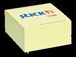 Samolepicí kostka Stick'n 76 x 76mm pastel.žlutá