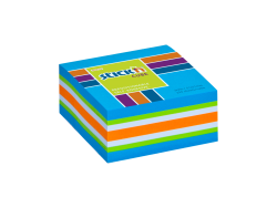 Samolepicí  MINI kostky Stick'n 51x51mm modrá mix 250 lístků
