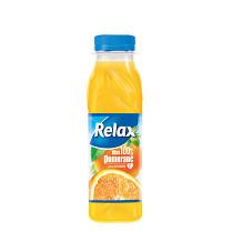 RELAX džus 12x300ml pomeranč 100% - plast