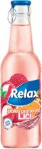 RELAX nápoj 24x250ml Malina, máta - sklo