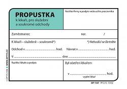 Propustka OPTYS  A7 OP1147
