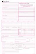 Mezinárodní nákladní list CMR OPTYS  A4, samopropisovací, 5 listů 100 složek OP1197