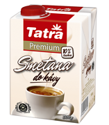 Smetana do kávy Tatra premium 10% 500g