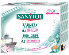 Sanytol tablety do myčky 4v1 40ks