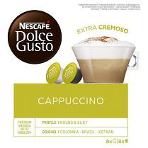 Káva Nescafé Dolce Gusto Cappuccino 8 + 8 kapslí