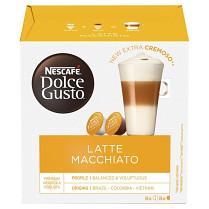 Káva Nescafé Dolce Gusto Latte Macchiato 8 + 8 kapslí