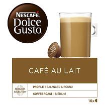 Káva Nescafé Dolce Gusto Café au lait 16 kapslí