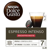 Káva Nescafé Dolce Gusto Espresso Decaffeinato 16 kapslí