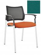 Židle jednací 2170 Rocky NET C Termín dodání: 10_dní D06 - zelená