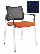 Židle jednací 2170 Rocky NET C Termín dodání: 10_dní D07 - tmavě modrá
