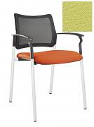 Židle jednací 2170 Rocky NET C Termín dodání: 10_dní D08 - světle zelená