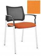 Židle jednací 2170 Rocky NET C Termín dodání: 10_dní D09 - oranžová
