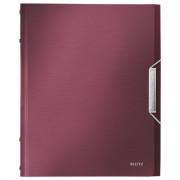Třídicí kniha Leitz Style, 6 částí Granátově červená   DOPRODEJ!!!