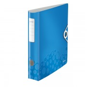 Mobilní pořadač Leitz 180° WOW A4 65mm Metalická modrá