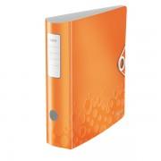 Mobilní pořadač Leitz 180° WOW A4 82mm Metalická oranžová DOPRODEJ!!!