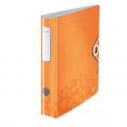 Mobilní pořadač Leitz 180° WOW A4 65mm Metalická oranžová DOPRODEJ!!!
