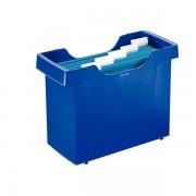 Zásobník na závěsné desky Leitz PLUS Modrá