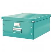 Velká archivační krabice Leitz Click & Store Ledově modrá