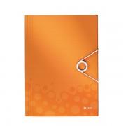 Desky na spisy Leitz WOW Metalická oranžová DOPRODEJ!!!