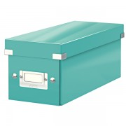 Krabice na CD Leitz Click & Store Ledově modrá