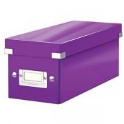 Krabice na CD Leitz Click & Store Purpurová