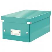 Krabice na DVD Leitz WOW Click & Store Ledově modrá