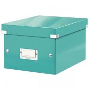 Malá archivační krabice Leitz Click & Store Ledově modrá