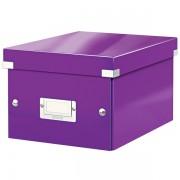 Malá archivační krabice Leitz Click & Store Purpurová