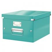 Střední archivační krabice Leitz Click & Store Ledově modrá