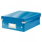Malá organizační krabice Leitz Click & Store Modrá