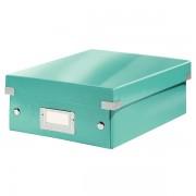 Malá organizační krabice Leitz Click & Store Ledově modrá