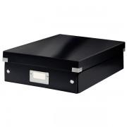 Střední organizační krabice Leitz Click & Store Černá