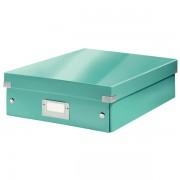 Střední organizační krabice Leitz Click & Store Ledově modrá