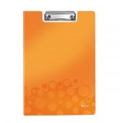 Podložka na psaní se zakrývací deskou Leitz WOW Metalická oranžová DOPRODEJ!!!